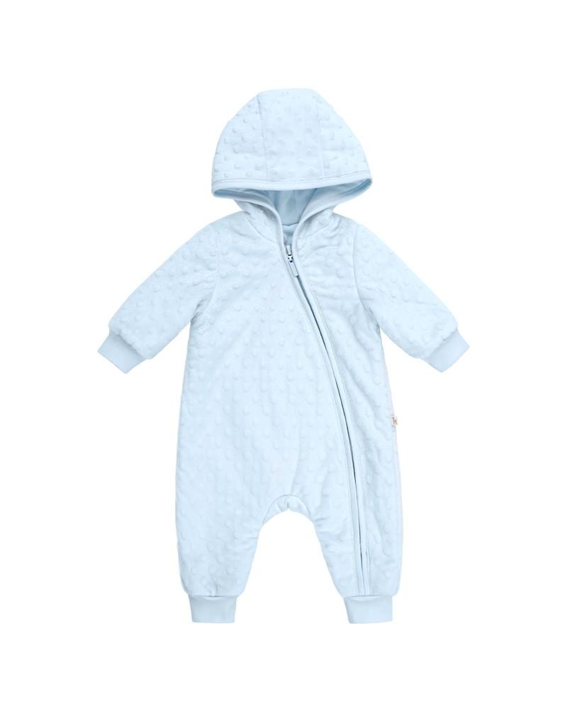 Gefütterter Baby-Overall  Bembi  62-68 | blau