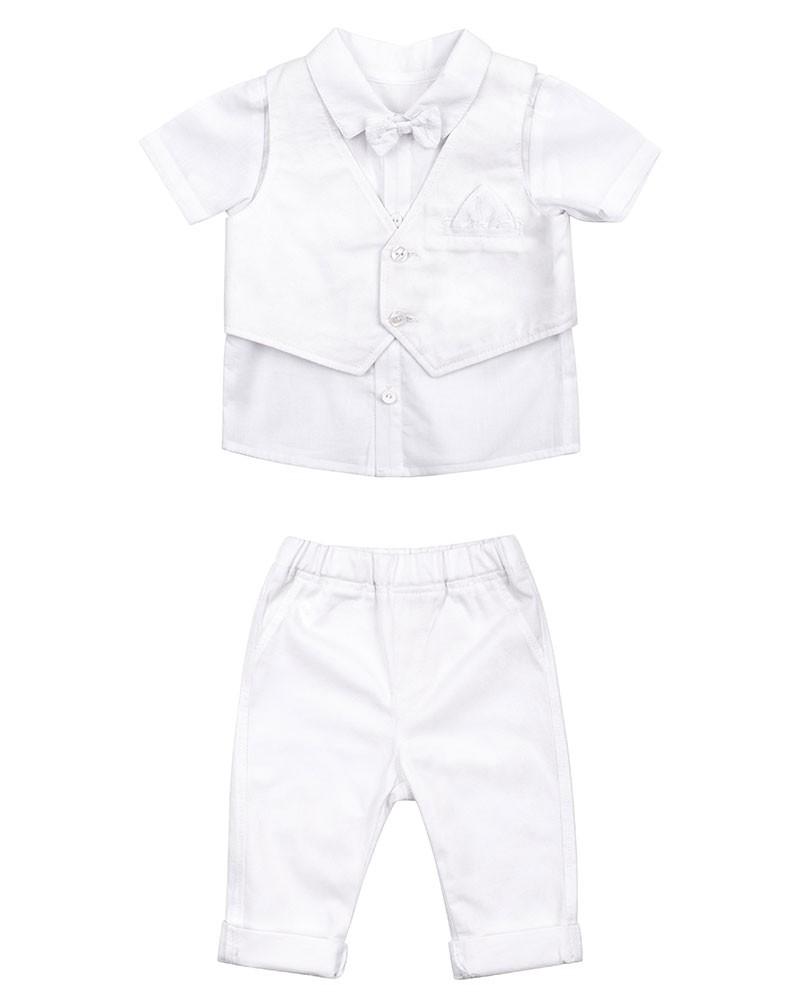 baby jungen, festliches anzug-set, taufanzug